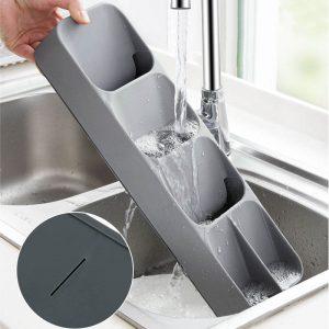 range couverts tiroir cuisine gris